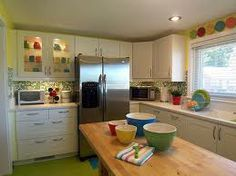 colorful kitchens - Google Search