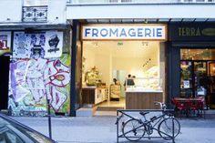 Paris cheese shop