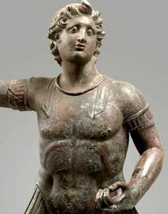 Portrait of Alexander the Great on horseback Hellenistic Period, third and second century BCE Bronze, 49 cm © Gandur Foundation for Art, Geneva