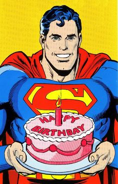 Superman Happy birthday