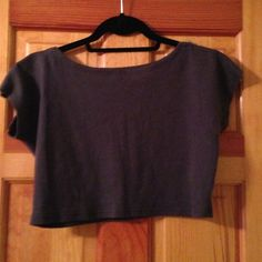 American Apparel Zipper Sleeve Crop Top A cute summer shirt for going out at night! Size M/L American Apparel Tops Crop Tops