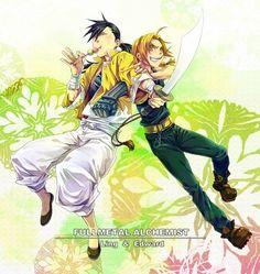 Fullmetal Alchemist: Brotherhood - Anime Fan Art: ling&ed