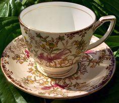 """Melba China Co. Ltd """"Princess"""" Teacup and Saucer"""