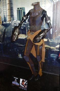 Letitia Wright Black Panther Shuri movie costume