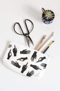 This #DIY hand-printed pencil case earns our sincerest applause.