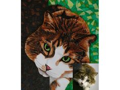 Custom Pet Portrait From Photo - Full Color - 8x10 - pinned by pin4etsy.com