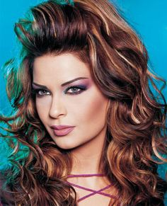 Marvelous Summer Dark Brown And Highlights On Pinterest Short Hairstyles Gunalazisus