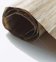 Green Blade: Papel de parede feito 100% com fibra de bananeira.