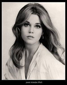 Jane Fonda, a tousle haired blonde by 1963 -- Top Actresses of the Vintage Hollywood, Hollywood Glamour, Hollywood Stars, Classic Hollywood, Jane Seymour, Divas, Timeless Beauty, Classic Beauty, Beautiful People