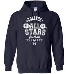 All Stars football league American football hoodie sweater hoody  <