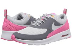 Nike Air Max Thea Cool Grey/Pink Glow/Atomic Mango/Light Base Grey - Zappos.com Free Shipping BOTH Ways