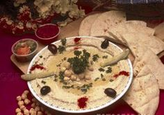 Lebanese Hummus...the real stuff.  This is great!
