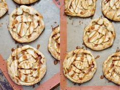 Apple Galettes with
