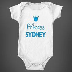 Frozen Princess Sydney Baby Girl Name