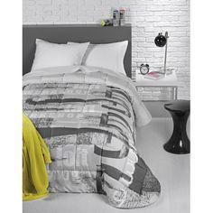 Traget.ro ofera cuverturi canapea si pat pentru plapuma gri Urban, ideale pentru o decorare nonconformista in orice dormitor de baieti.