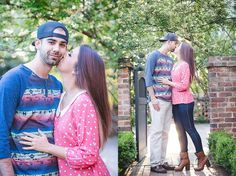 Shot By An Angel Photography - Kasey & Kyle - Engagements - Founders Memorial Garden - Athens, Ga
