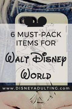 What is a good Walt Disney World packing checklist?   An expert-level guide and infographic on the perfect Walt Disney World packing checklist that will ensure you have the best trip possible.