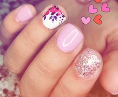 Pink and glitter is cute together