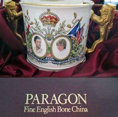 Paragon Princess Diana Prince Charles Wedding Loving Cup Limited Edition