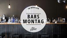 Wer am Montagabend in München noch etwas trinken möchte, steht öfter mal vor verschlossenen Türen. Daher sind hier 11 Bars, die auch montags offen haben: