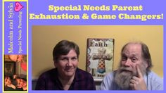 Today, we're talking about the exhaustion that many #specialneeds parents experience and some game/life changing incidents that can happen. #specialneedsparenting #specialneedsfamily