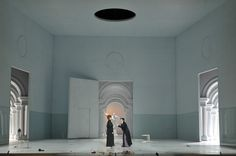 La Clemenza di Tito from Teatro La Fenice di Venezia. Production, sets and costume by Karl-Ernst Hermann.