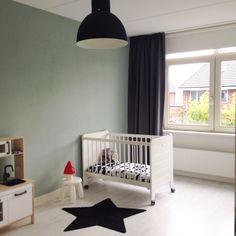 Nieuwe slaapkamer voor Luuk #boy #room #earlydew #blackandwhite