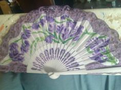 This fan is created for me Malva, Hand Fan, Hands, Bridal, Create, Women, Shape, White Lace, Hand Fans