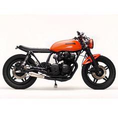 """""""#Honda CB750 """"Midnight"""" by @steelbentcustoms ! ➖➖➖➖➖➖➖➖➖ ➖➖➖➖➖➖➖➖➖ TAG/REGRAM…"""