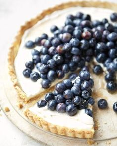 Treat yourself with a Blueberry-Ricotta Tart