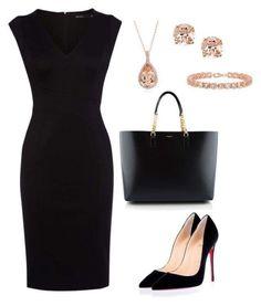 Designer Clothes, Shoes & Bags for Women Black Dress Outfits, Black Dress Shoes, Classy Outfits, Chic Outfits, Fashion Outfits, Womens Fashion, Petite Fashion, Corporate Fashion, Business Fashion