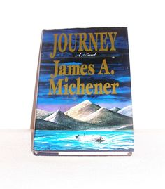 "BOOK ""Journey"" (A Novel by James A. Michener) Vintage 1989 Book - Literature/Fiction/Action/Adventure by SheCollectsICreate on Etsy"