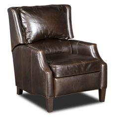 Hooker Furniture Amazonica Walnut Recliner & Reviews | Wayfair