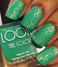 mint Green with Gold stamping
