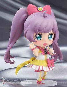 Jual Nendoroid Co-de Manaka Laala - Twinkle Ribbon Cyalume Co-de dari Game PriPara Original Good Smile Company dapatkan di jactionfigure.com