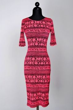 Sexy Half Sleeve Print Midi Dress | Rumor Apparel | Use coupon code PIN10 for 10% off!!! #fashion #fashionista #love #sexydresses #shop