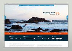 Martin Oberhäuser: Travel Website Redesign