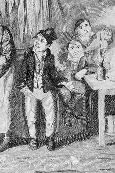 18 Vintage Photos Of Charles Dickens' London ~ Oliver Twist The Old Curiosity Shop, Oliver Twist, Victorian London, Classic Literature, Vintage Photos, Book Art, Art Pieces, Sculptures, Illustration Art