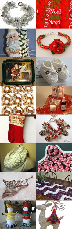 63 Days before Christmas!   by Corkycrafts on Etsy--Pinned with TreasuryPin.com