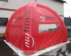 Ilmatäytteinen teltta Myfitness http://www.mainos.marketing/fi/otsing?keyword=ilmat%C3%A4ytteinen+mainos