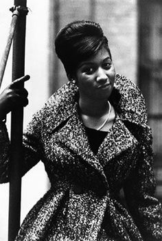 simple, chic, but fierce! let's show a little #respect #arethafranklin #glamour via @impossiblecool
