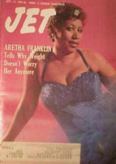 Aretha Franklin On Magazine Covers | Jet Magazine September 17 1981 Aretha Franklin (Single Back Issue) by ...