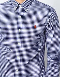 Polo Ralph Lauren Shirt in Slim Fit Gingham