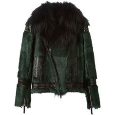 Roberto Cavalli Fur Biker Jacket and other apparel, accessories and trends. Browse and shop 8 related looks.