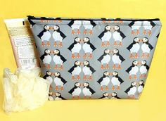 Your place to buy and sell all things handmade Bird Design, Print Design, Waterproof Makeup, Going On Holiday, Makeup Bags, Wash Bags, Cosmetic Case, Beauty Essentials, Toiletry Bag