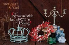 Use my candelabra and crown and do this for the xmas season.