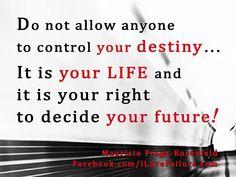 my life...my choice