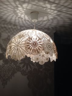 best photos home decor nature summer career + # best # photos … – Lighting Ideas Lace Lampshade, Doily Lamp, Lampshades, Crafts To Do, Diy Crafts, Crochet Lamp, Deco Luminaire, Doilies Crafts, Outdoor Light Fixtures
