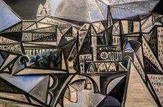 Ile de la Cite - View of Notre-Dame de Paris, 1945 Pablo Picasso