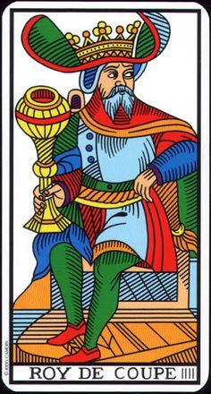 King of Cups - Tarot de Marseille (Camoin-Jodorowsky) - Rozamira Tarot - Picasa Web Albums